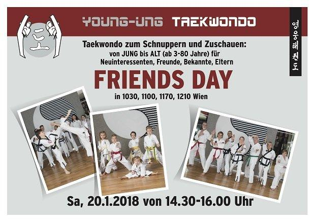 Friends Day, YOUNG-UNG Taekwondo,Spaß,Sport