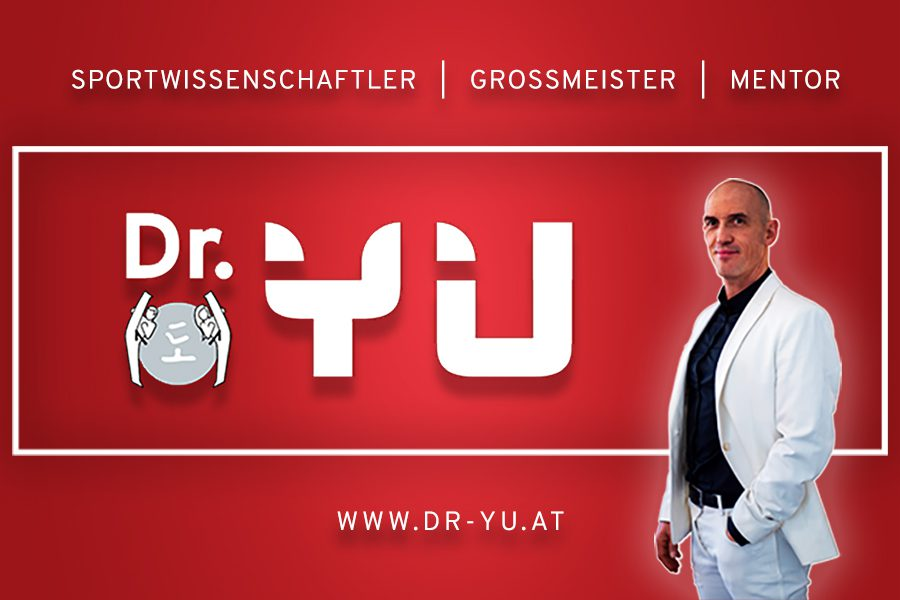 Dr. YU Facebook Banner in rot